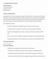 Call Center Supervisor Resume Beauteous Call Agent Resume Samples New Call Center Manager Resume Examples
