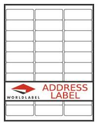 Avery Return Address Labels 8167 Return Address Label Our Wl 25 Same Size As Avery 5167