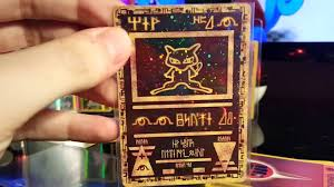 8 extremely rare pokemon cards ancient mew mewtwo celebi ebay finds part 3 you
