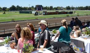 Trackside Paddock View Table Seating Sonoma County Fair