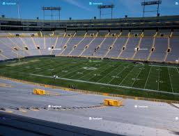 Lambeau Field Section 126 Seat Views Seatgeek