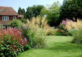 Small Picture large garden design ideas The exuberant planting of this large