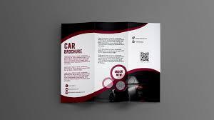 Professional Tri Fold Brochure Design Photoshop Cc
