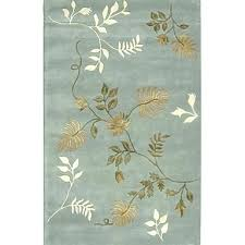 area rugs with leaf design pattern rug s palm crochet fanciful green at studio contour con