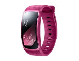 <b>Умный браслет Samsung</b> Gear Fit 2, красный купить в интернет ...