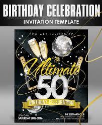32 Best Birthday Invitation Templates Psd Download Psd