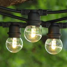 Commercial Outdoor Medium Base LED String Lights String Lights - Commercial exterior led lighting