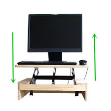 portable computer desk folding table sit stand office small fold away up down ikea