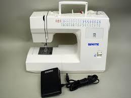 Ebay White Sewing Machine