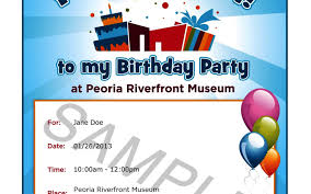 birthday party invitation letter sample sample invitations original size