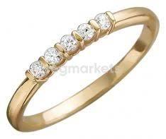 <b>Кольца</b> золотые с фианитами купить в Твери (от 490 руб.) 🥇