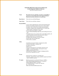 Interesting Retail Sales Associate Description For Resume For Your
