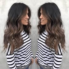 dark ombre hair color