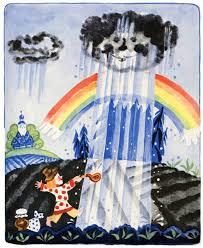 дождик дождик пуще книжка раскладушка