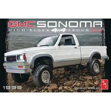 AMT 1/20 1993 GMC Sonoma 4x4 SLE Pickup Truck Kit   Hobbymasters