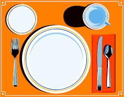 dinner table clipart. Fine Clipart On Dinner Table Clipart I