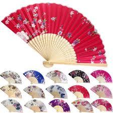 Online Shop Spanish <b>Style</b> Party Colorful silk fan <b>folding</b> fan <b>Folding</b> ...