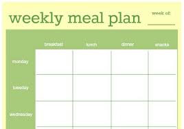Clean Eating Meal Planning Chart Clean Eating Meal Plan On A Budget How To Make A Simple