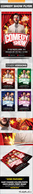 Comedy Show Flyer Template Comedy Show Flyer Template By TarekAboualata GraphicRiver 24