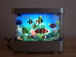 Great Moving Aquarium Table Lamp