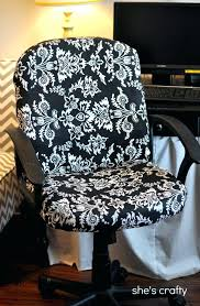 slipcover for office chair diy couch slipcover no sew shes crafty recovered office chair lets recover slipcover for office chair