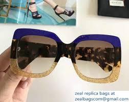 gucci 2017 sunglasses. gucci glitter square-frame acetate sunglasses 461705 04 2017