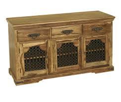 Sheesham Bedroom Furniture Bali Sheesham Indian Wood Furniture 3 Door Sideboard Cabinet