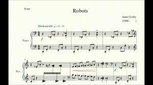 Robots - Anne Crosby - Piano Repertoire 1 - YouTube
