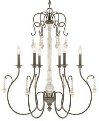 this 6 light chandelier from the vineyard collection by capital lighting will enhance your home with