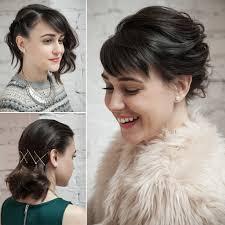 Holiday Hair Ideas For Short Hair Popsugar Beauty