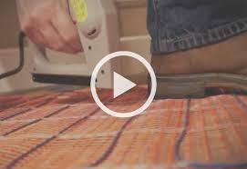 add warmth underfloor by installing radiant heat beneath your floors