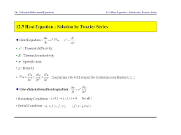 12 5 heat equation solution by fourier series