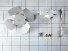 kenmore 469081. w10124096 genuine whirlpool kenmore refrigerator condenser motor fan kit new oem 469081 a