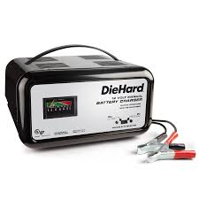 diehard 10 amp manual battery charger power up in no time sears