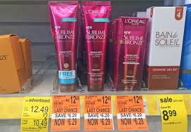 l 39 oreal sublime bronze face cream only 0 29 at walgreens