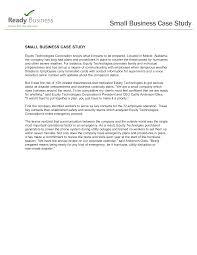 Business Case Study Templates At Allbusinesstemplates Com