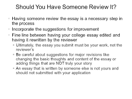 act sat essay writing dr shawnita sealy jefferson ph d  should you have someone review it