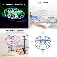 Buy wembley toys ufo drone flying ball toys with gesture control ...