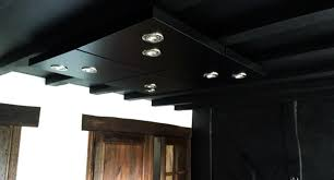 diy ceiling lighting. diy kitchen ceiling lighting made from ikea lack tables diy