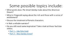 college application essay topics for the great gatsby research paper swarms of reporters journalists and gossipmongers descend on the mansion in task research one of the following topics about the 1920s era