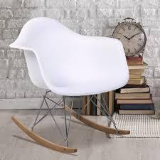 Rocking Chair Modern eames rar style mid century modern molded plastic rocking rocker 1049 by uwakikaiketsu.us