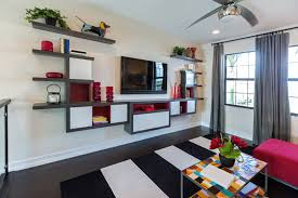 shelving designs for living room