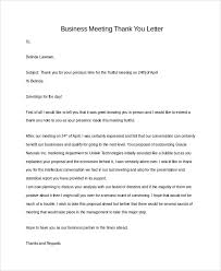 Sample Business Thank You Letter 7 Examples In Pdf Word
