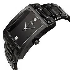 men s u12557g1 classic black ip rectangular diamond accented watch guess men s u12557g1 classic black ip rectangular diamond accented watch