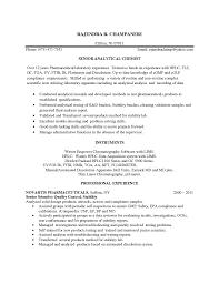 Control Technician Resume Sales Technician Lewesmr