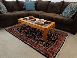 rug sizes for living room what size area under coffee table ethnic tables rugs â â of image ikea plush s