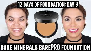 Bare Minerals Barepro Powder Foundation Review Oily Skin 12 Days Of Foundation Day 9