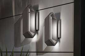 pitch outdoor led wall sconce by george