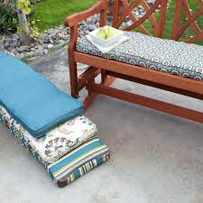 bench cushion covers how to make cushions outdoor 48 diy cover no diy outdoor bench cushion