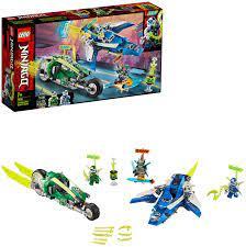 Lego 71709 NINJAGO Jay und Lloyds Power-Flitzer mit Flugzeug- und  Fahrradrennfahrern, Bauset, Prime Empire Rennfahrzeuge: Amazon.de: Spielzeug